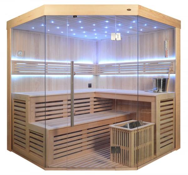 Sauna TS 4014-LS Eco-Ofen, 200x200cm