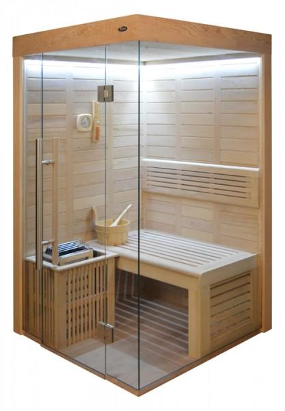 Sauna HE 4020-2 Eco-Ofen, 120x120cm