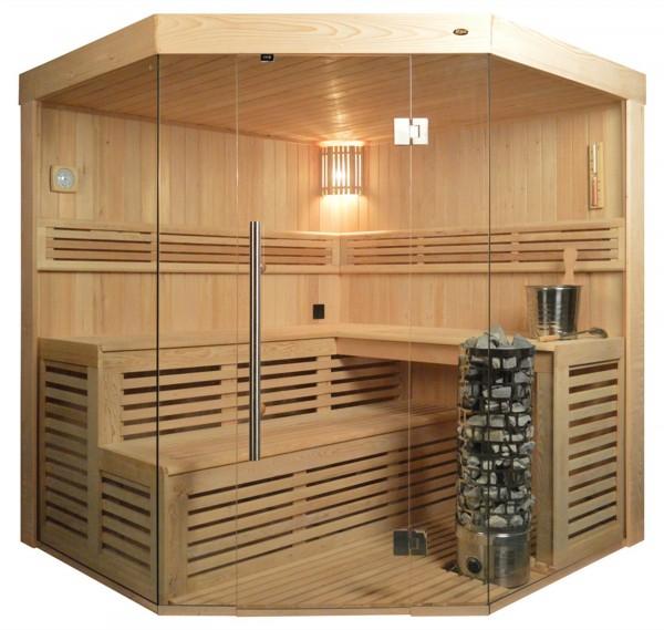 Sauna TS 4013-A Steintowerofen, 180x180cm