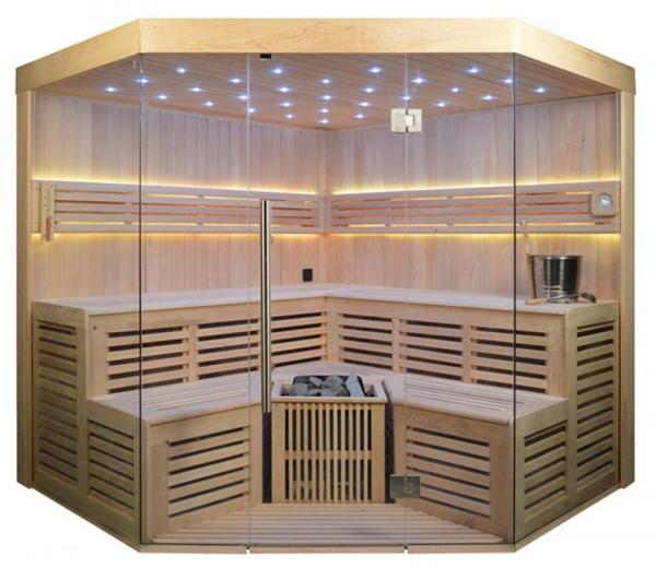 Ausstellungsstück Sauna TS 4015-LS, Eco-Ofen, 220x220cm