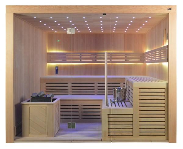Sauna TS 4020-3 ADC Bio-Kombiofen, 220x180cm