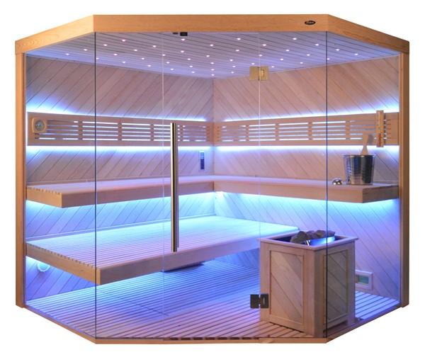 Sauna TS 4064 ADC-Bio, 200x200cm