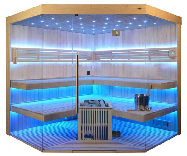 Sauna TS 4065 LS ECO, 220x220cm
