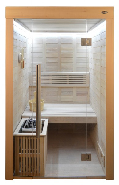 Sauna HE 4020 Eco-Ofen, 120x120cm