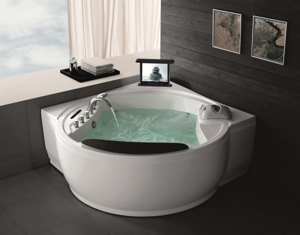 Whirlpool Badewanne Innenwhirlpool Hot Tub Spa Pool HSG 121-TV