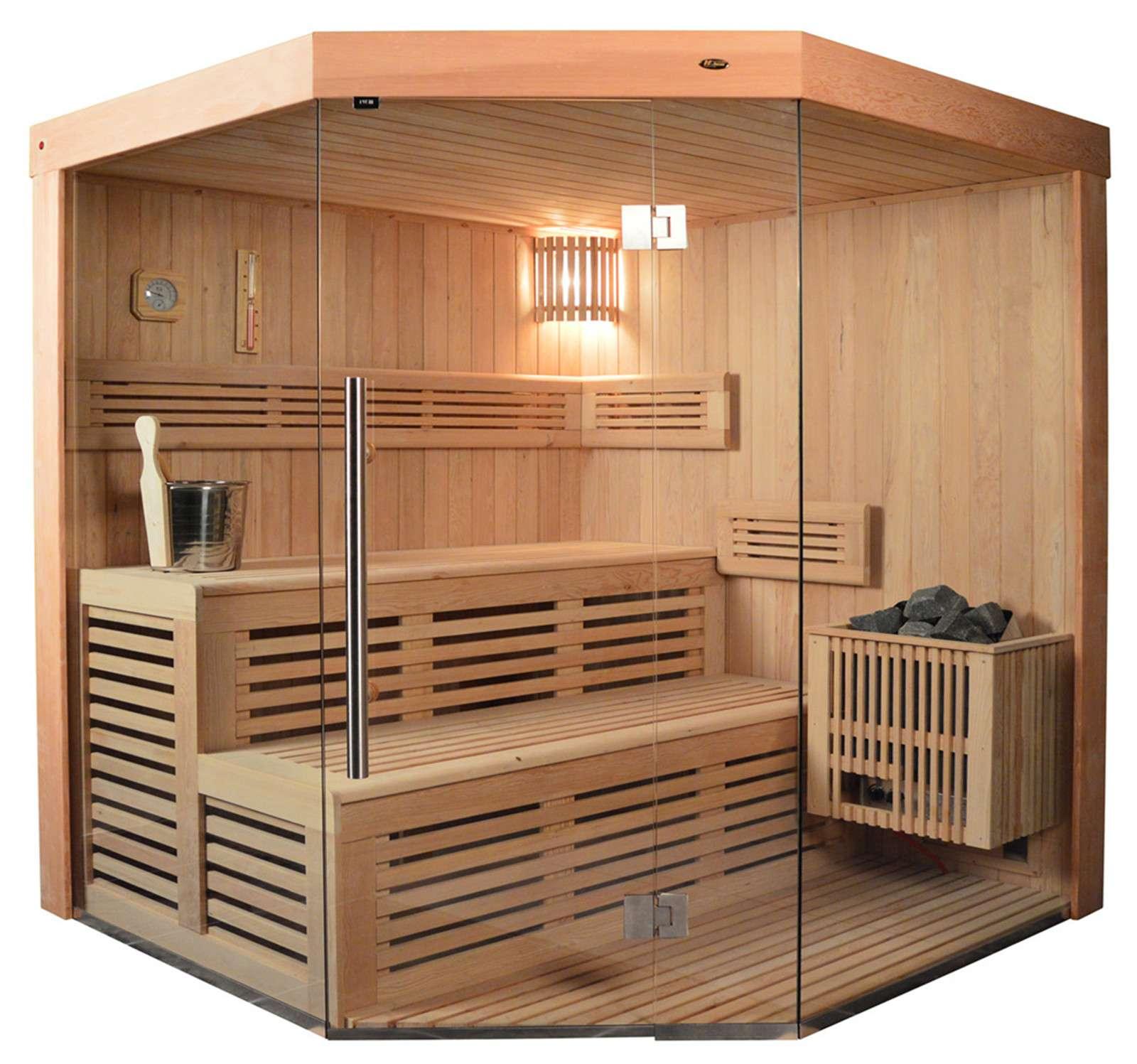 Wunderbar Sauna Für Zuhause Dekoration Von Ts 4013 Eco-ofen, 180x180cm