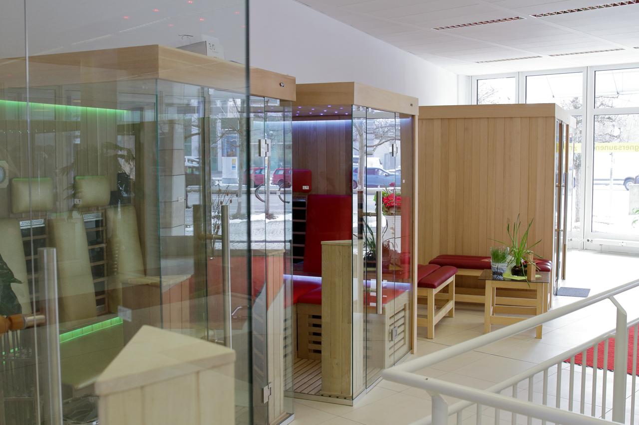Sauna-Ausstellung München