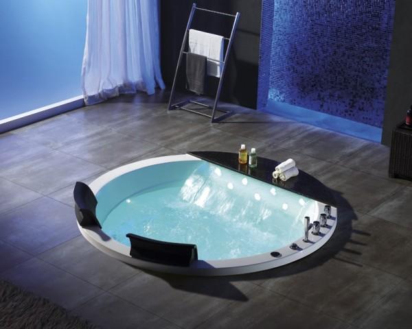 Whirlpool Badewanne Innenwhirlpool Hot Tub Spa Pool HSG 142- WF Einbau