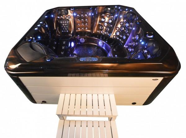 Whirlpool Outdoor Außenwhirlpool Hot Tub Spa Pool AR 542-230 coffee/weiß
