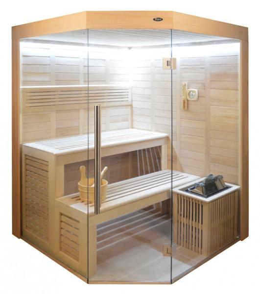 Sauna HE 4017 Eco-Ofen, 160x160cm