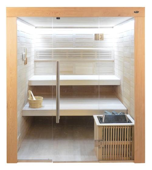 Sauna HE 4011 Eco-Ofen, 180x180cm