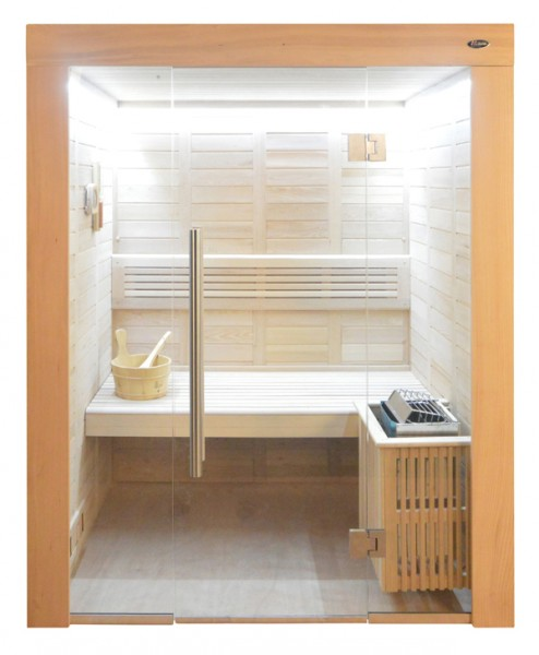 Sauna HE 4019 Eco-Ofen, 150x120cm