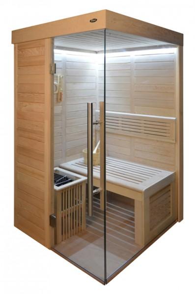 Sauna HE 4020-1 Eco-Ofen, 120x120cm