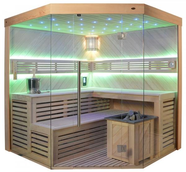 Sauna TS 4024A-DC Bio-Kombiofen, 200x200cm