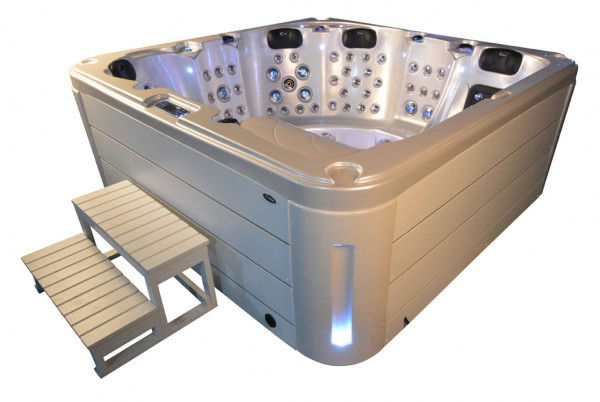 Whirlpool Outdoor Aussenwhirlpool Hot Tub Spa Pool AR 561-200 perlweiss-weiss