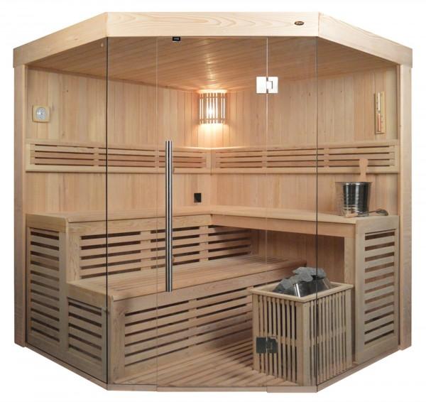 Sauna TS 4014 Eco-Ofen, 200x200cm