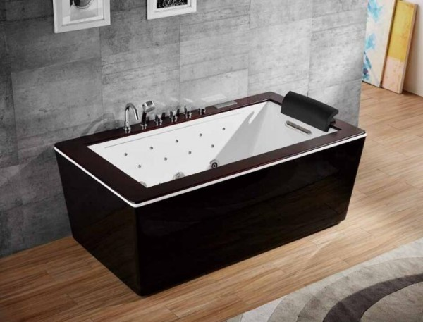 Whirlpool Badewanne Innenwhirlpool Hot Tub Spa Pool HSG 135- WF-SW